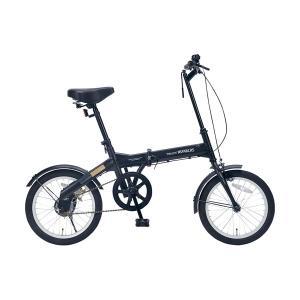 折畳自転車 16インチ   M-100 BK