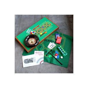 ブラックジャック、ルーレット、バカラ、クラップスが遊べます【10%OFF】4ゲームテーブルセット G139-3|hrtg