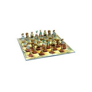 ※送料無料!※細部までこだわった逸品。【細部までこだわった逸品。】 ピーターラビットのチェスセット hrtg