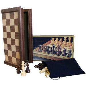 ※送料無料※【初心者から上級者まで】本格木製チェスセット トーナメントプロチェスセットA hrtg