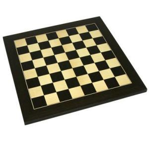 【ボードサイズ:400×400mm】チェスボード カエデ/黒檀 7822|hrtg