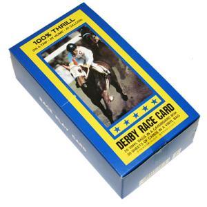 【※正規品※】セットで買うとお得♪懐かしの紙競馬!ダービーレースカード 30枚入り20セット G4240 hrtg
