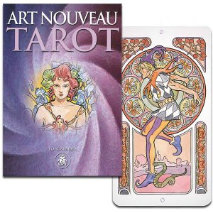 ART NOUVEAU TAROT アールヌーボー・タロット(大アルカナのみ/ハードボックス版)|hrtg