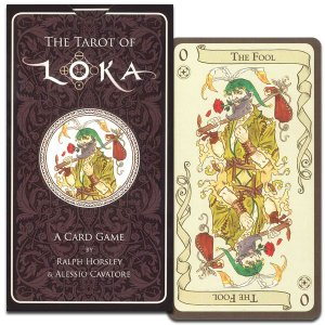 THE TAROT OF LOKA タロット・オブ・ロカ|hrtg