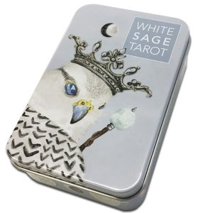 WHITE SAGE TAROT ホワイト・セージ・タロット(缶入)|hrtg