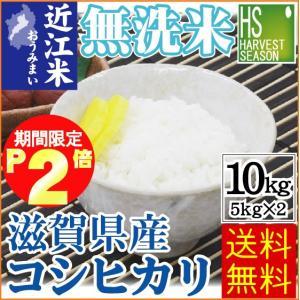 無洗米 5kg×2袋 滋賀県産 コシヒカリ 10kg 近江米...