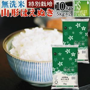 無洗米 5kg×2 10kg はえぬき 山形県産 29年産 ...