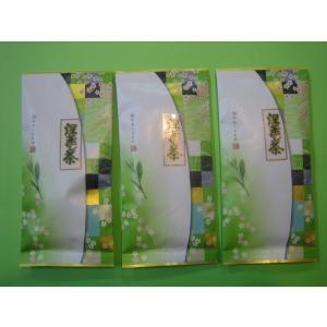 お買い得品! 『静岡茶 深蒸し茶』100g詰×3袋  クリックポスト発送です  送料無料です。   ...