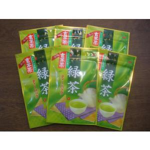 玄米茶ティーバッグ2g×25パック×6袋