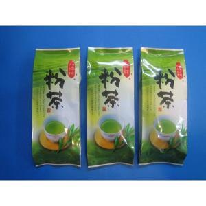お買い得品! 『静岡茶 粉茶深蒸し茶』200g詰×3袋  クリックポスト発送です  1番茶の粉茶です...