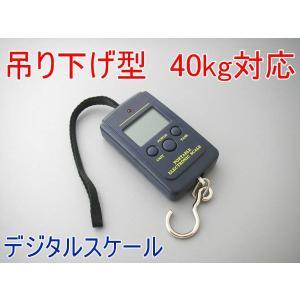 吊り下げデジタルスケール●付はかり 40kg|hsfujisan