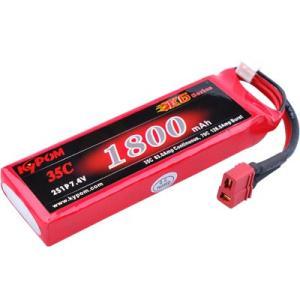 Kypom K6 7.4V 1800mAh 35C70C リポ バッテリー|hsfujisan