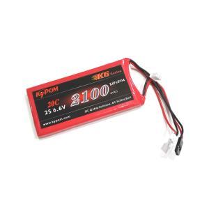 Kypom K6 6.6V 2100mAh 20C40C リフェ バッテリー hsfujisan