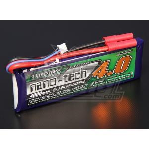 Turnigy nano-tech 7.4V 4000mAh 25C50C リポ|hsfujisan