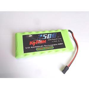 Kypom 9.6V 2500mAh 平型 ニッケル水素 送信機用|hsfujisan