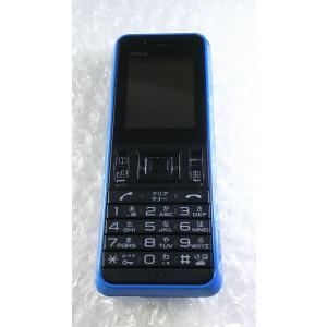 京セラ STOLA WX08K willcom [ブルー] 本体 白ロム 988059|hsmtoys-p