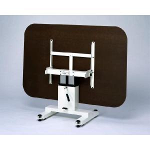 昇降テーブル:折りたたみ収納式(福祉・多目的用)大型1200×1800(平野システム作業台)『予約』|hss-products