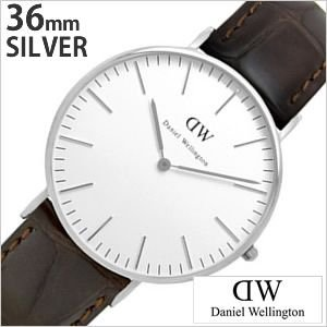 ダニエル ウェリントン 腕時計 Daniel Wellington クラシック ヨーク シルバー 0610DW メンズ レディース ユニセックス セール