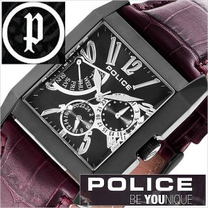 ポリス 腕時計 POLICE 時計 キングス アベニュー 13789MSB-02 メンズ|hstyle