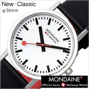 モンディーン 腕時計 MONDAINE クラシック New Classic メンズ レディース A660.30314.11SBB セール hstyle