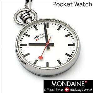モンディーン 懐中時計 MONDAINE 腕時計 ポケットウォッチ スネークチェーン付き A660.30316.11SBB インテリアクロック セール hstyle