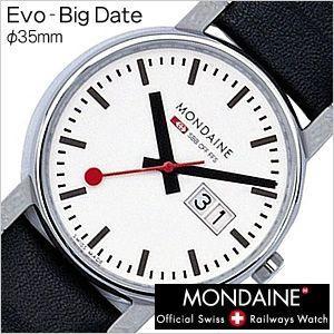 モンディーン 腕時計 MONDAINE エヴォ ビッグデイト Evo-BigDate メンズA669.30300.11SBB セール hstyle
