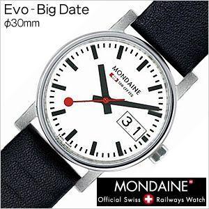 モンディーン 腕時計 MONDAINE エヴォ ビッグデイトレディ-ス Evo-BigDateLadies レディースA669.30305.11SBB セール hstyle