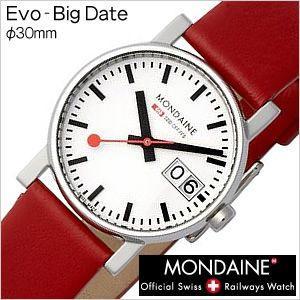 モンディーン 腕時計 MONDAINE エヴォ ビッグデイトレディ-ス Evo-BigDateLadies レディースA669.30305.11SBC セール hstyle