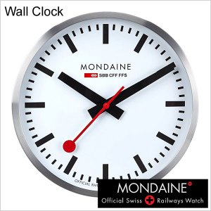 モンディーン 時計 MONDAINE ウォール クロック A995CLOCK16SBB メンズ レディース ユニセックス 男女兼用 セール hstyle