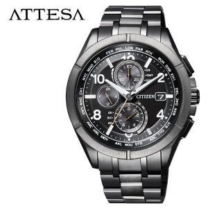 CITIZEN 腕時計 シチズン 時計 アテッサ ATTESA メンズ 腕時計 ブラック  AT81...