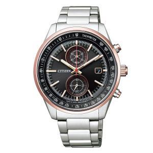 シチズンコレクション 腕時計 メンズ ブラック CA7034-61E ラグビー日本代表モデル限定 エコ・ドライブ Limited Models CA7034-61E hstyle 02