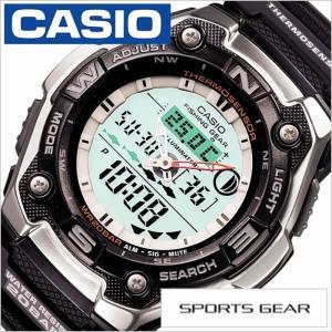 【型番】CASIO-AQW-101J-1AJF【ケース】材質:ステンレススティール サイズ:縦49×...