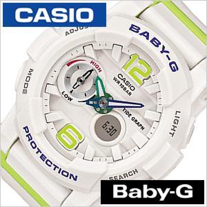 ベイビー ジー ジー ライド BABY-G G-LIDE レディース腕時計/ホワイト/CASIO-BGA-180-7B2JF アナデジ/デジタル/液晶/グリーン/シルバー/グレー セール