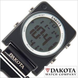 ダコタ ポケットウォッチ DAKOTA 時計 カラビナ時計 デジクリップスクエア DKT-3088-1-BK ユニセックス メンズ レディース|hstyle