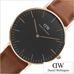 ダニエル ウェリントン 腕時計 Daniel Wellington 時計 クラシック ブラック ダラム DW00100138 メンズ レディースの商品画像|ナビ