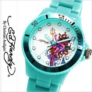 エドハーディー腕時計 EdHardy時計 Ed Hardy 腕時計 エド ハーディー 時計 ビップ VIP レディース ブルー ホワイト EDHARDY-VIP-LB|hstyle