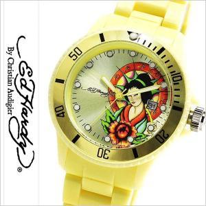 エドハーディー腕時計 EdHardy時計 Ed Hardy 腕時計 エド ハーディー 時計 ビップ VIP レディース イエロー EDHARDY-VIP-LY|hstyle