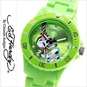 エドハーディー腕時計 EdHardy時計 Ed Hardy 腕時計 エド ハーディー 時計 ビップ2 VIP2 メンズ グリーン EDHARDY-VP2-GR|hstyle