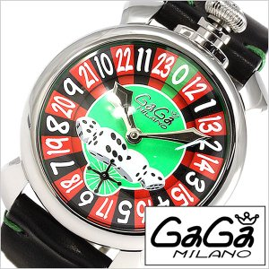 ガガ ミラノ 腕時計 GaGa MILANO 時計 マヌアーレ 48mm ラスベガス 5010 LAS メンズ レディース ユニセックス 男女兼用|hstyle