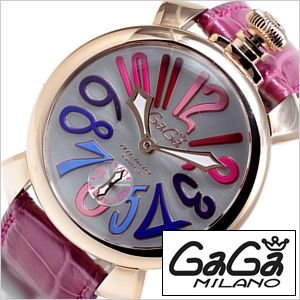ガガ ミラノ 腕時計 GAGA Milano マヌアーレ プラカットオロ スイスメイド GG-5011-9S メンズ レディース セール|hstyle