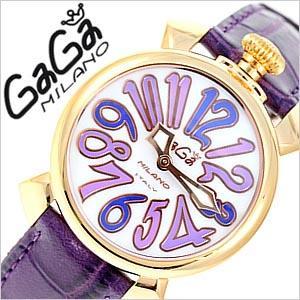 ガガミラノ腕時計 GaGaMilano時計 GaGa Milano 腕時計 ガガ ミラノ マヌアーレ MANUALE ユニセックス ホワイトシェル GG-50214 セール|hstyle