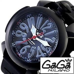 ガガミラノ 腕時計 GaGaMILANO ダイビング 48MM チタニオ PVD メンズ時計GG-5042 セール|hstyle