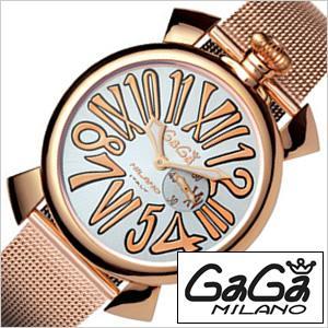 ガガミラノ 腕時計 GaGaMILANO スリム 46MM プラカット オロ メンズ時計GG-5081.2 セール|hstyle