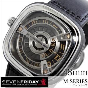 セブンフライデー 腕時計 SEVENFRIDAY 時計 エム シリーズ M1-03 メンズ|hstyle