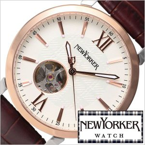ニューヨーカー 腕時計 NEW YORKER トラッドマン 2 NY001-01 メンズ セール|hstyle