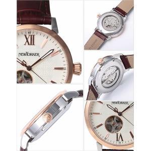 ニューヨーカー 腕時計 NEW YORKER トラッドマン 2 NY001-01 メンズ セール|hstyle|03
