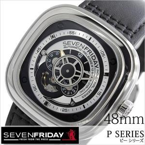 セブンフライデー 腕時計 SEVENFRIDAY 時計 ピー シリーズ インダストリアル エッセンス P01-01B-ESSENCE メンズ|hstyle