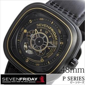 セブンフライデー 腕時計 SEVENFRIDAY 時計 ピー シリーズ インダストリアル ワークス P02-02-WORKS メンズ|hstyle