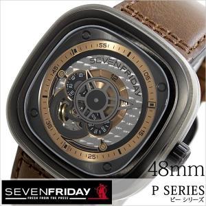 セブンフライデー 腕時計 SEVENFRIDAY 時計 ピー シリーズ インダストリアル レボリューション P2-01-REVOLUTION メンズ|hstyle
