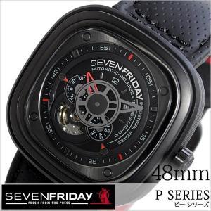 セブンフライデー 腕時計 SEVENFRIDAY 時計 ピー シリーズ インダストリアル レーサー P3-01-RACER メンズ|hstyle